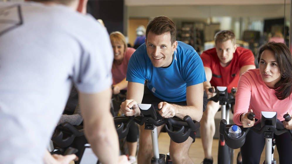 Spinning Iron Bike en Gimnasio Iron Salfer Fitness de Zaragoza