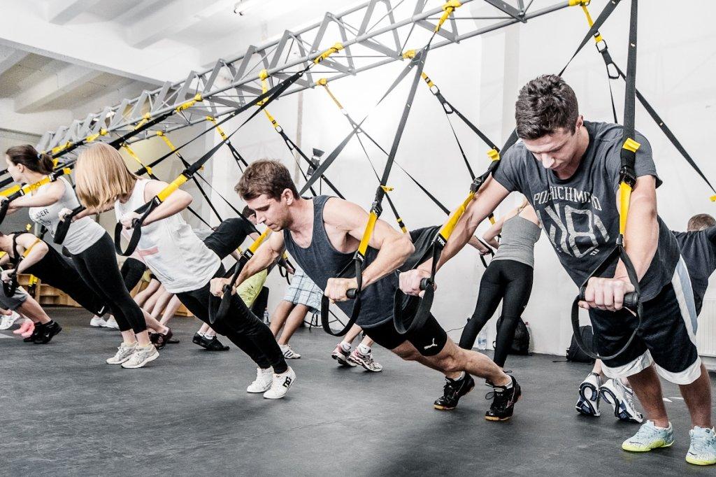 TRX en Gimnasio Iron Salfer Fitness de Zaragoza